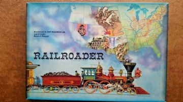 Railroader  Board Game Waddingtons (1963)